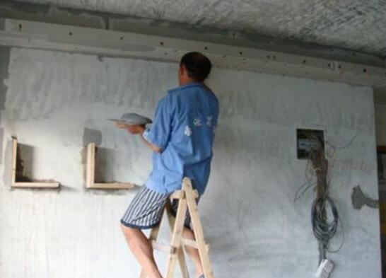 昆山墙面刷漆喷漆