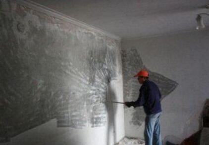 昆山油漆涂料施工墙面刮大白